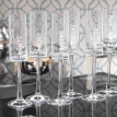 Celebration Champagne Flute Set. Says Cheers in Six languages